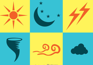 Weather Icons - Kostenloses vector #329731
