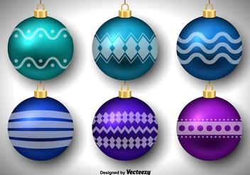 Christmas balls - Free vector #329771