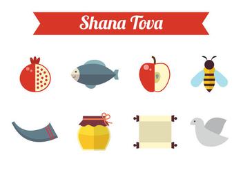Free Shana Tova Vector - Kostenloses vector #330601