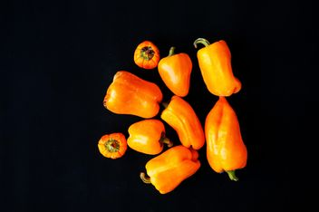orange bell peppers - image gratuit(e) #330901