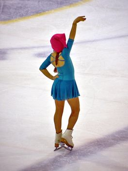 Ice skating dancer - Free image #330991