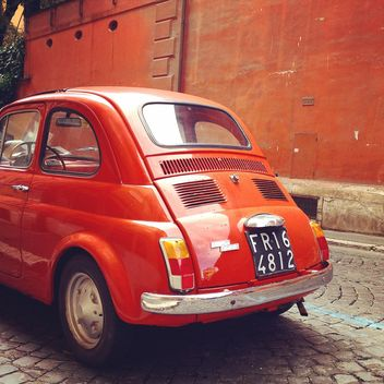 Old Fiat 500 car - Free image #331081