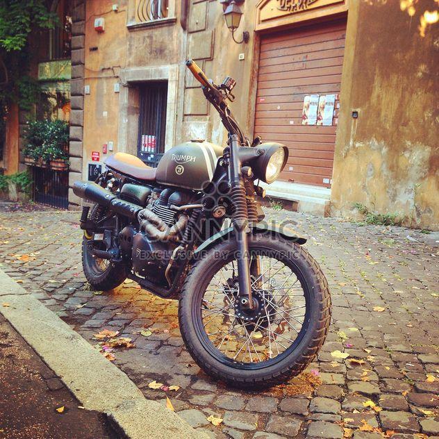 Triumph Giulia motorcycle old - image gratuit #331111