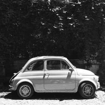 Retro Fiat 500 car - Free image #331251