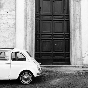 Retro Fiat 500 car - Free image #331261