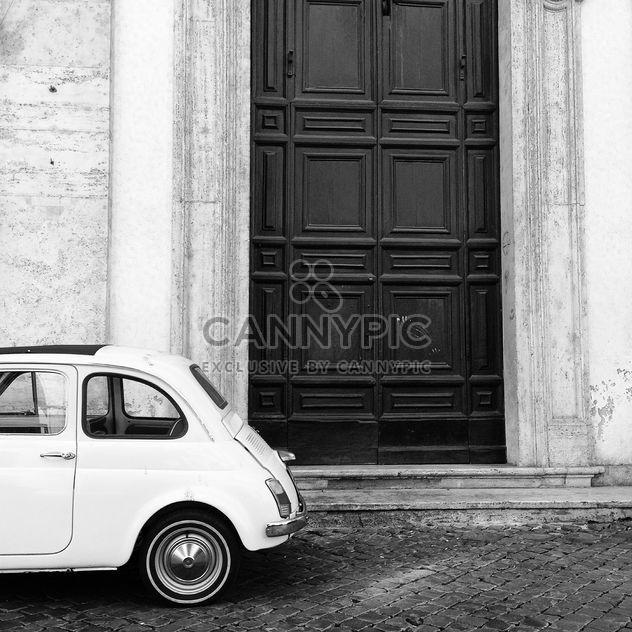 Retro Fiat 500 car - image #331261 gratis