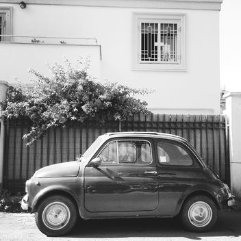 Old Fiat 500 car - image #331321 gratis
