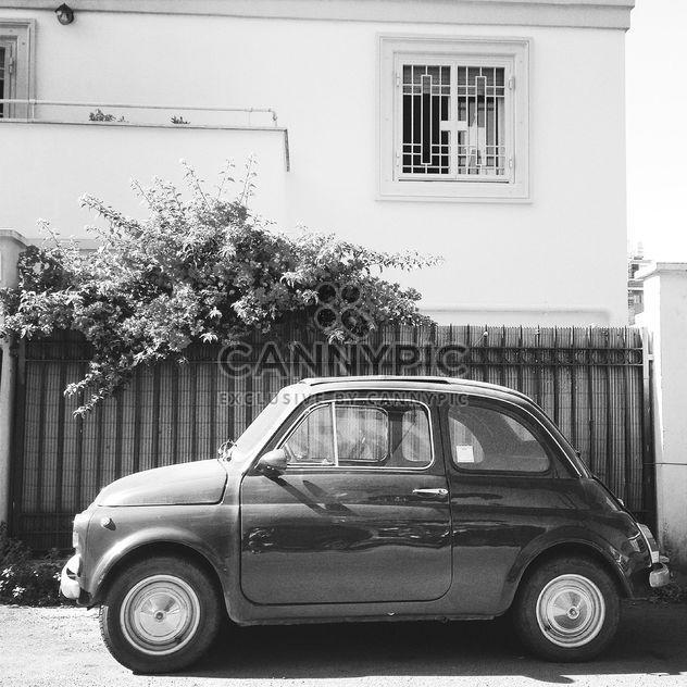 Vieille voiture Fiat 500 - image gratuit #331321