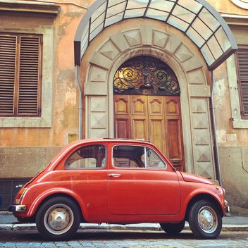Old Fiat 500 car - Free image #331371