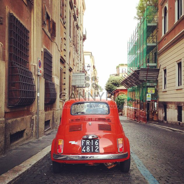 Old Fiat 500 car - Free image #331391