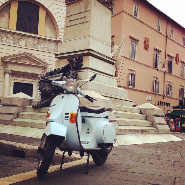 Vespa scooter on street - Free image #331471