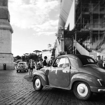 Retro classic car - image #331621 gratis