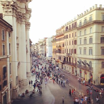 Via Del Corso in Rome - бесплатный image #331631
