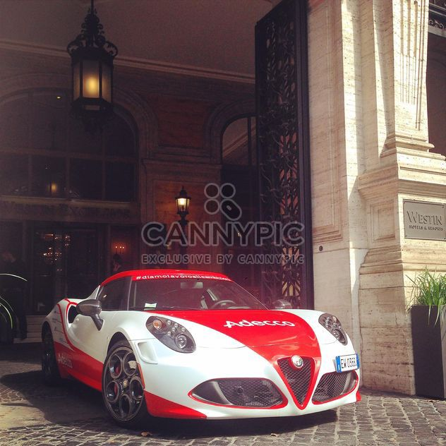 Alfa Romeo 4C car - Free image #331671