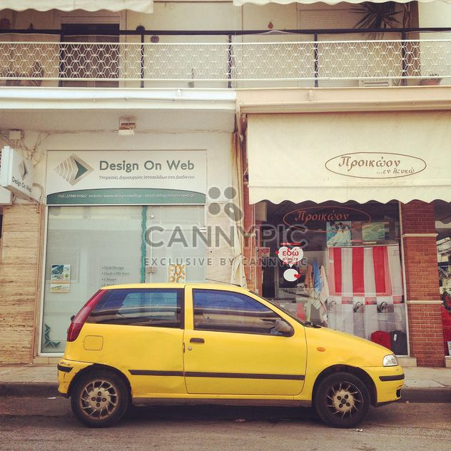Amarelo Fiat Punto na rua - Free image #331761