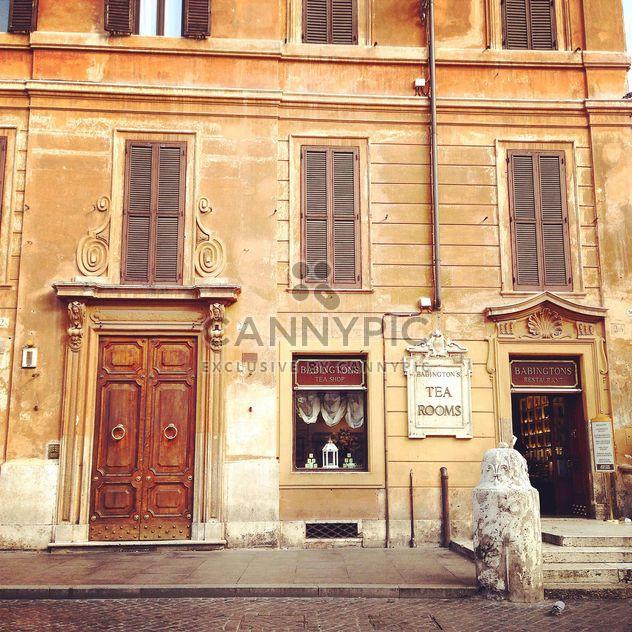 Salones de té, arquitectura de Roma, Italia - image #331791 gratis