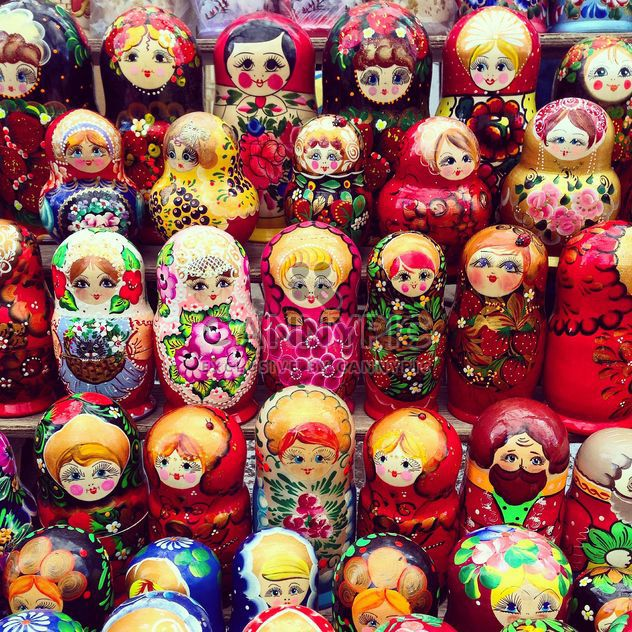 Traditional matrioshkas - бесплатный image #332081