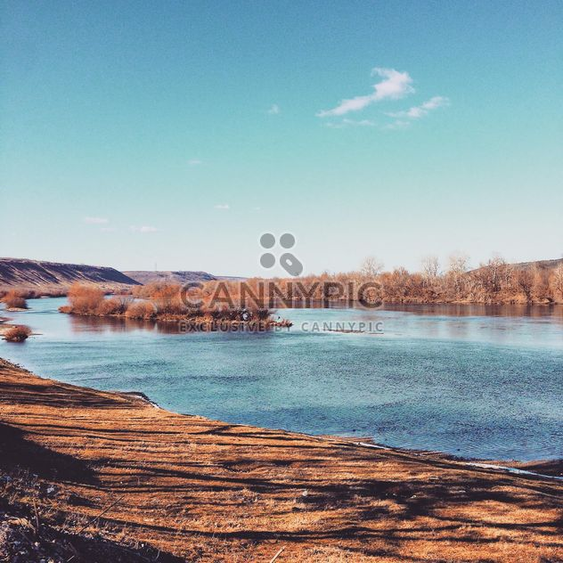 Beautiful landscape with lake - Kostenloses image #332111