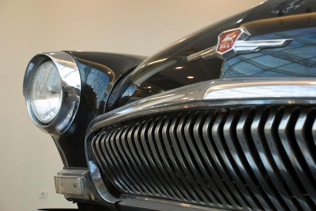 Details of old Volga car - image gratuit #332201