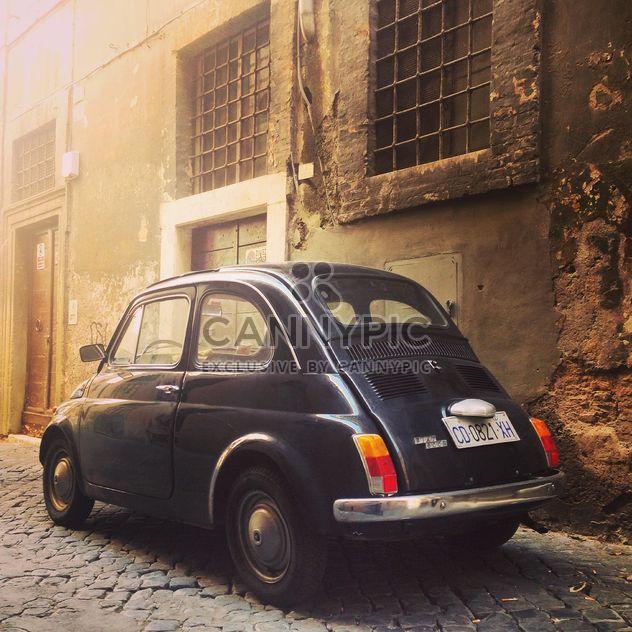 Coche Fiat 500 negro retro - image #332281 gratis