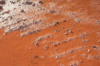Red wet ground - image gratuit #332781
