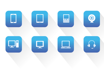 Device Vector Icons - Kostenloses vector #333401