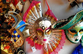 Masks on carnival - Free image #333651