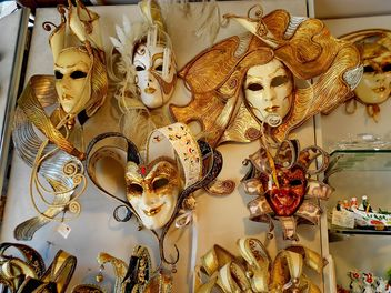 Masks on carnival - Free image #333661