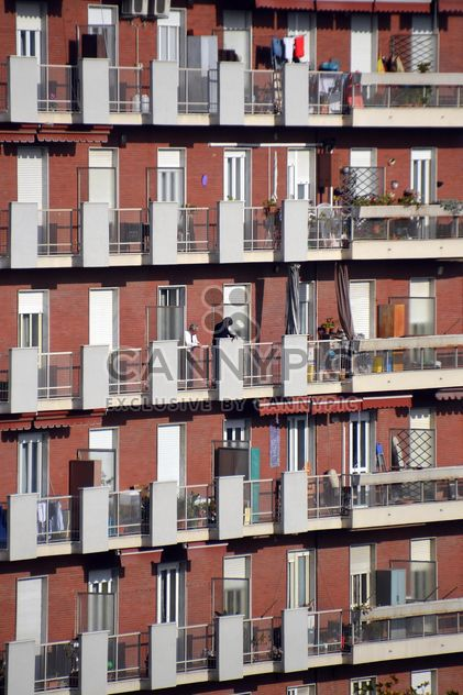 Facade of old-fashioned italian building - Free image #333761