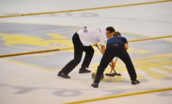 curling sport tournament - image gratuit #333791