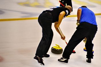 curling sport tournament - image gratuit #333801