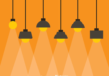 Hanging Lamp - vector gratuit #333821