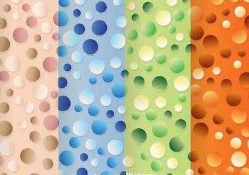 Pearl Polka Dot Pattern - Free vector #334061