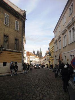 Prague street - Kostenloses image #334171