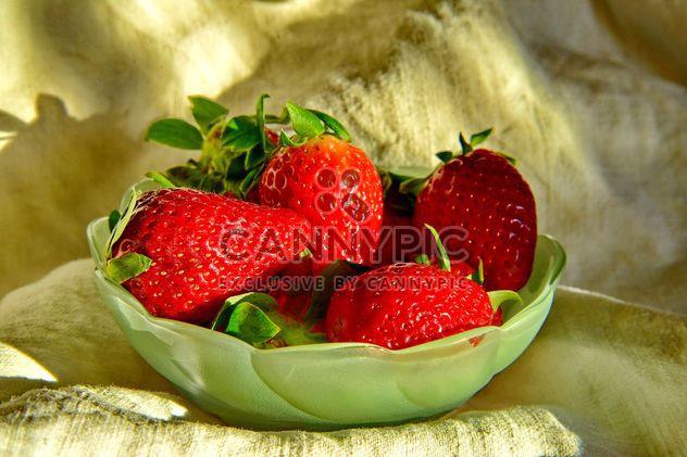 nature morte de fraises - Free image #334271