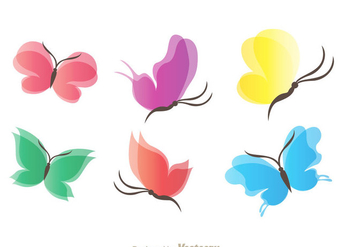 Beautiful Butterfly Wings - Kostenloses vector #334411