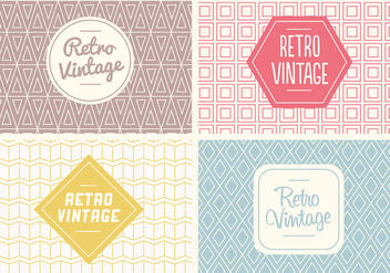 Free Seamless Vintage Pattern Vector - Kostenloses vector #334641