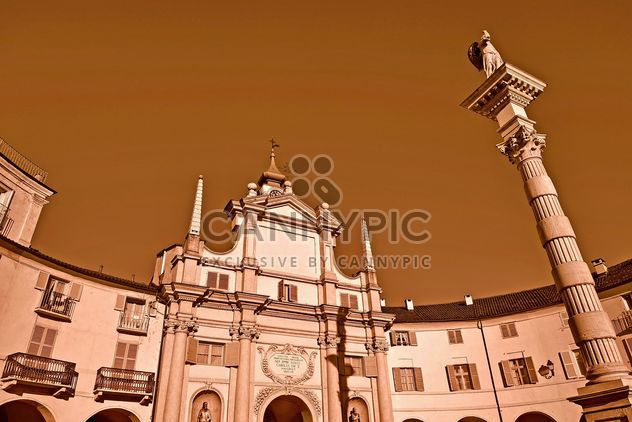 Architecture of italian church - Free image #334701
