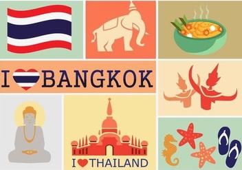 I Love Bangkok - Free vector #334861
