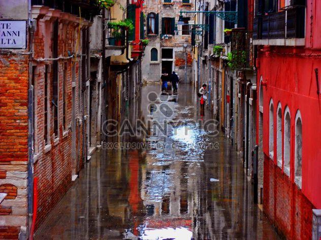 Rues des pluies de Venise - image gratuit #334991