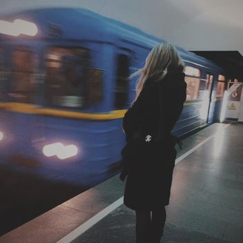 kiev metro station - image #335101 gratis