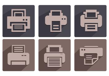 Fax icon vectors - Free vector #335441