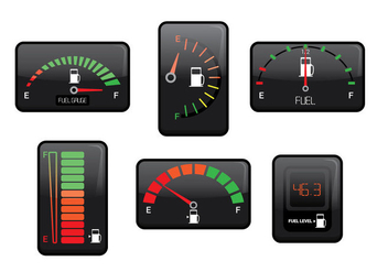Fuel Gauge Vector - Free vector #335941