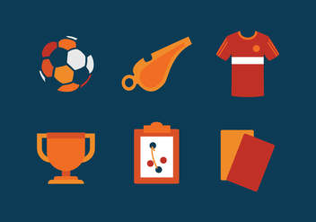 Vector Futsal Icon Set - Kostenloses vector #336081