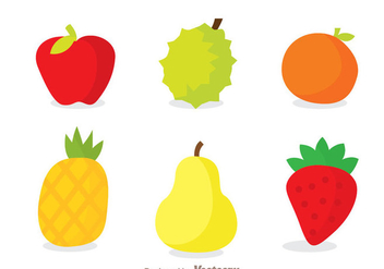Fruits Icons - vector gratuit #336121