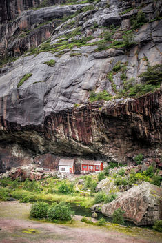 Houses - Helleren, Norway - Travel photography - Free image #336361