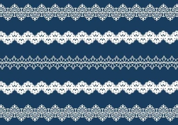 Vector Lace Trim - vector #336751 gratis