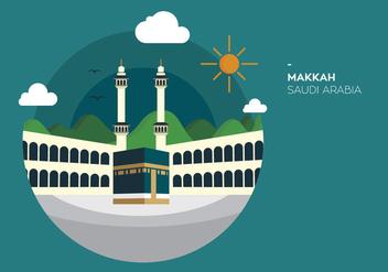 Makkah Kabah Vector - Free vector #337651