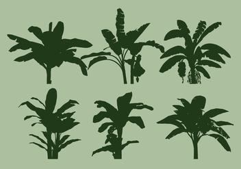 Banana Tree Vector - vector #337731 gratis