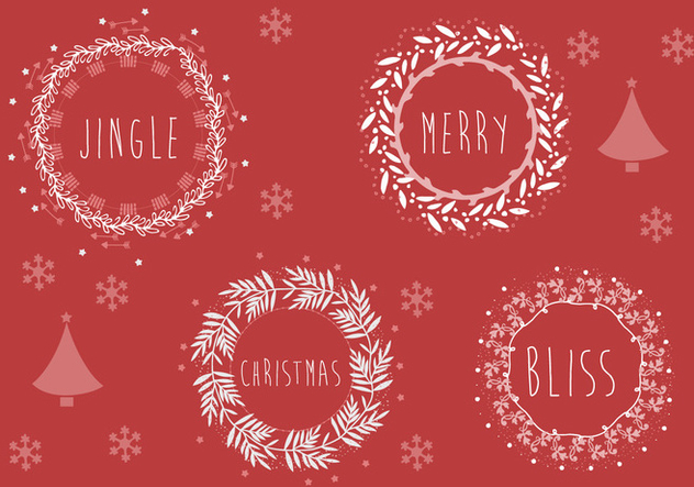Free Christmas Background Illustration - Free vector #338411